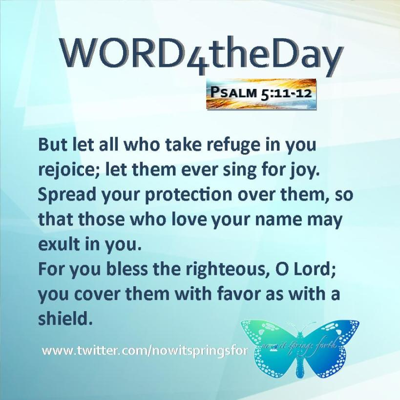 Psalm 5 11-12