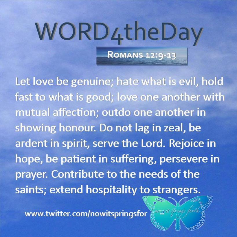 Romans 12 9-13