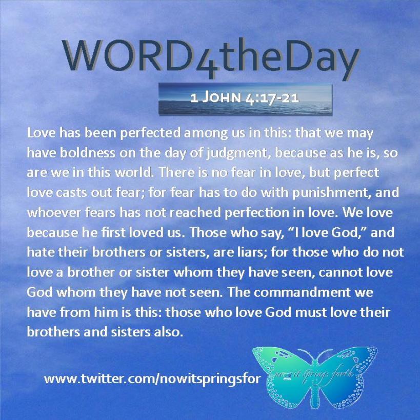 1 John 4 17-21