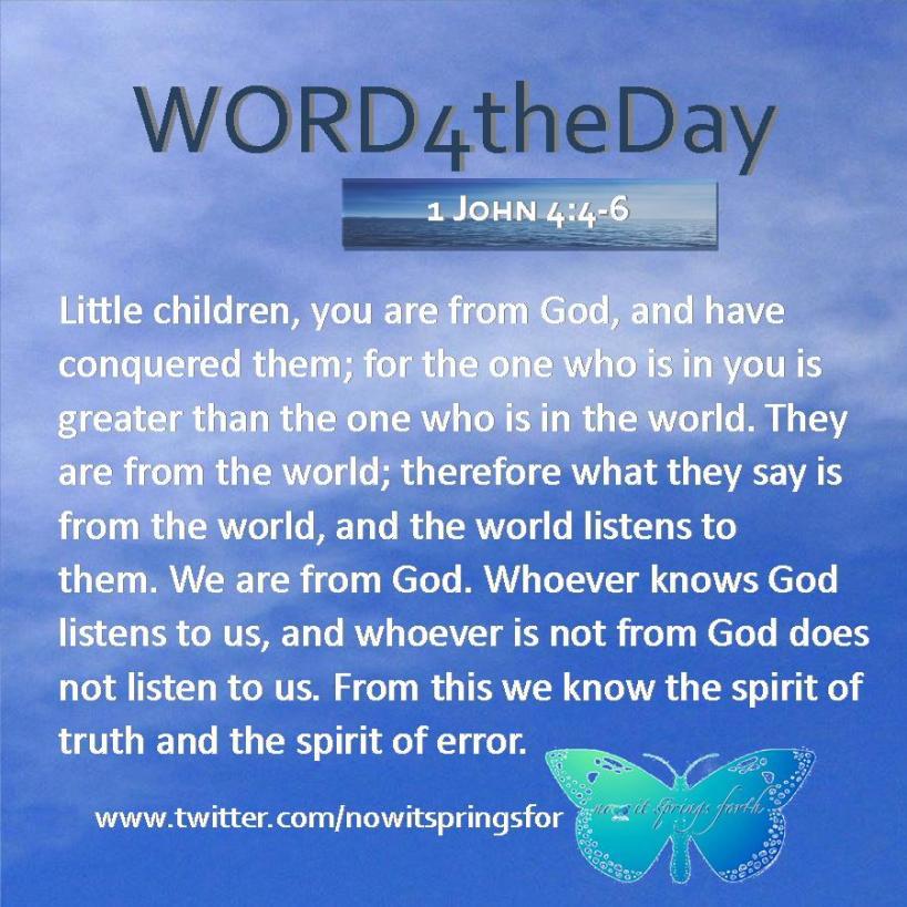 1 John 4 4-6