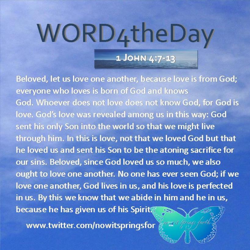 1 John 4 7-13