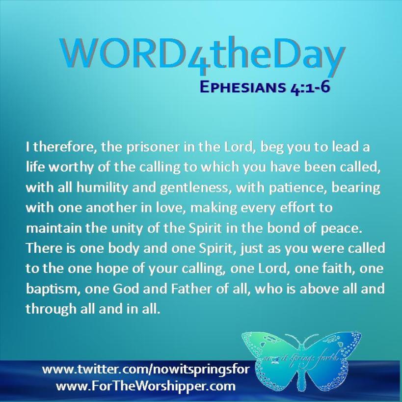 Ephesians 4 1-6