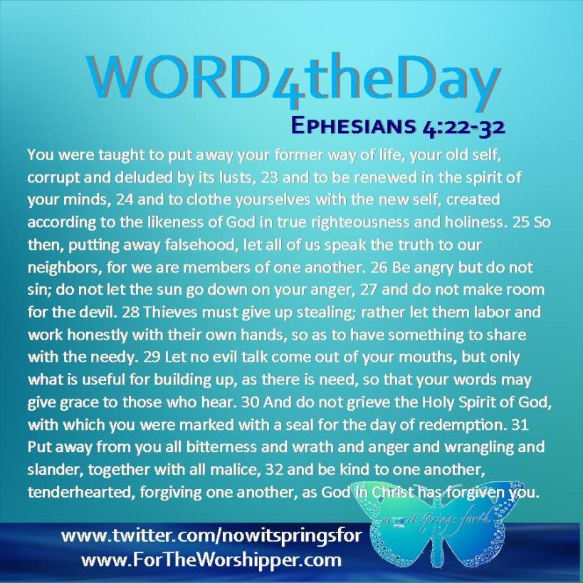 Ephesians 4 22-32