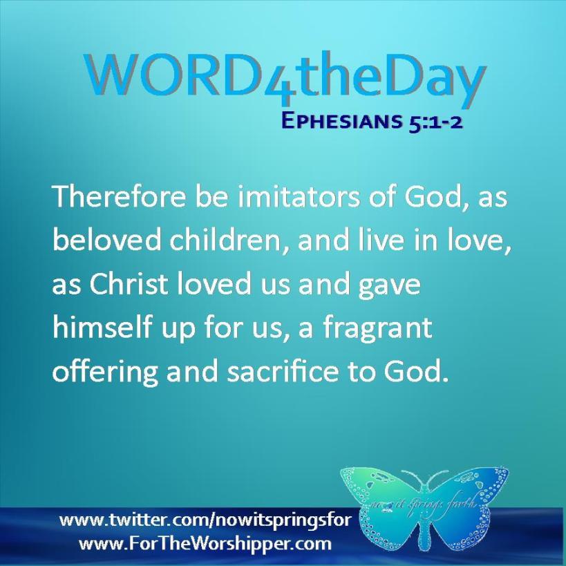 Ephesians 5 1-2