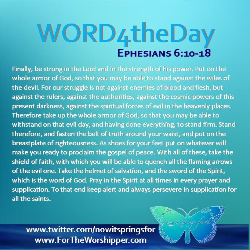Ephesians 6 10-18