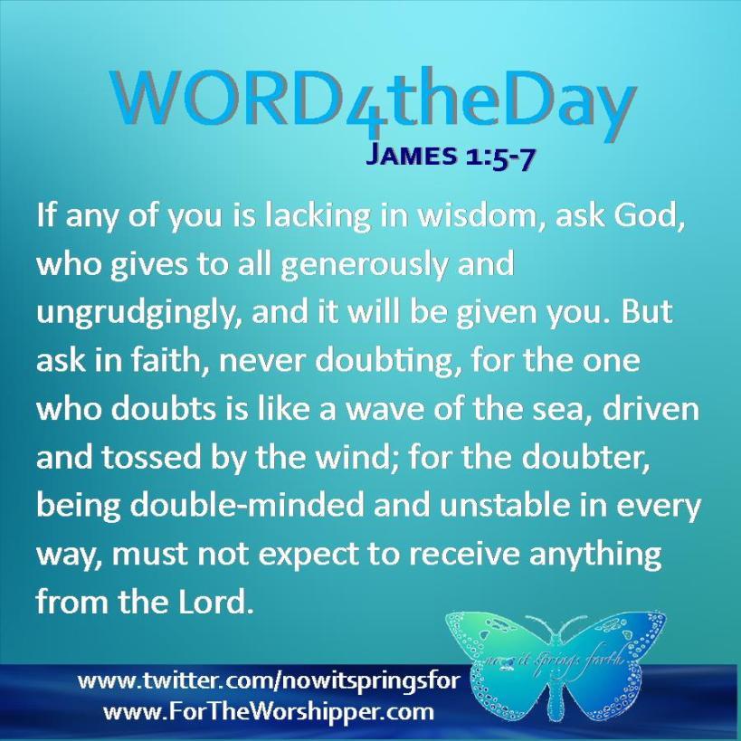James 1 5-7