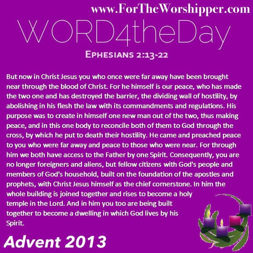 Ephesiaans 2 13-22