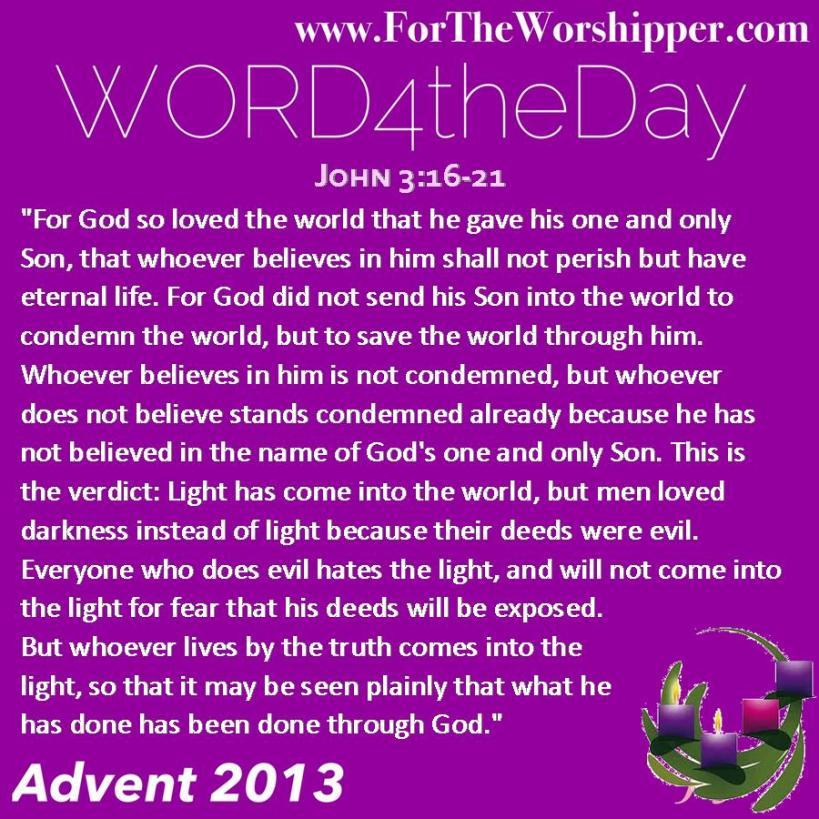 John 3 16-21