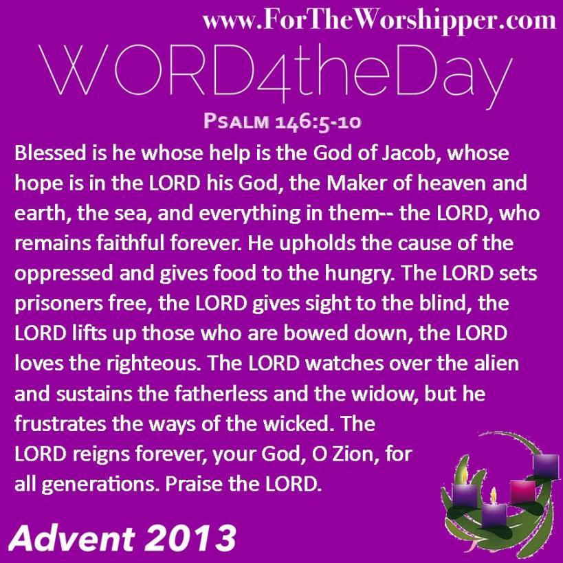 Psalm 146 5-10
