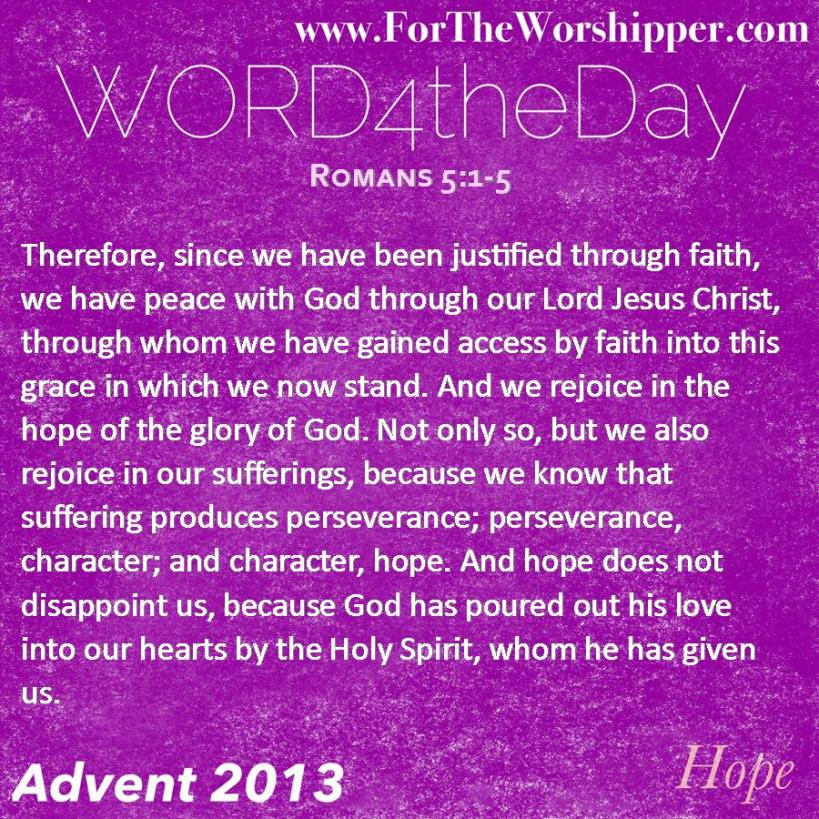 Romans 5 1-5