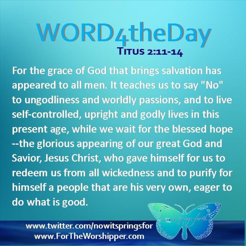 Titus 2 11-14