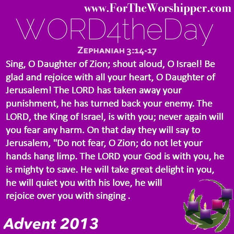Zephaniah 3 14-17