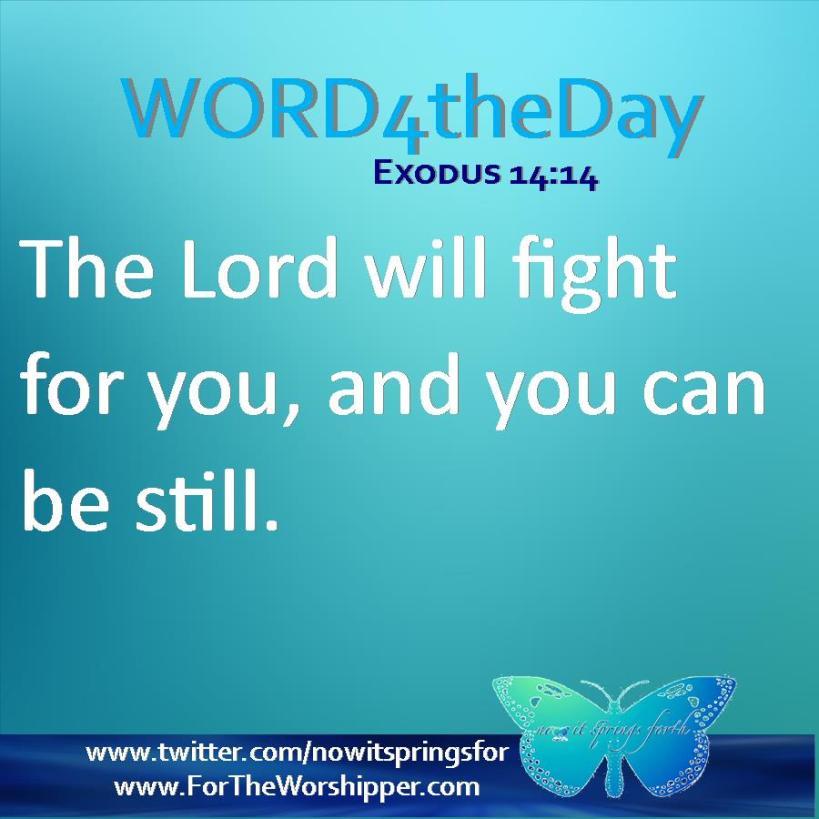 Exodus 14 14