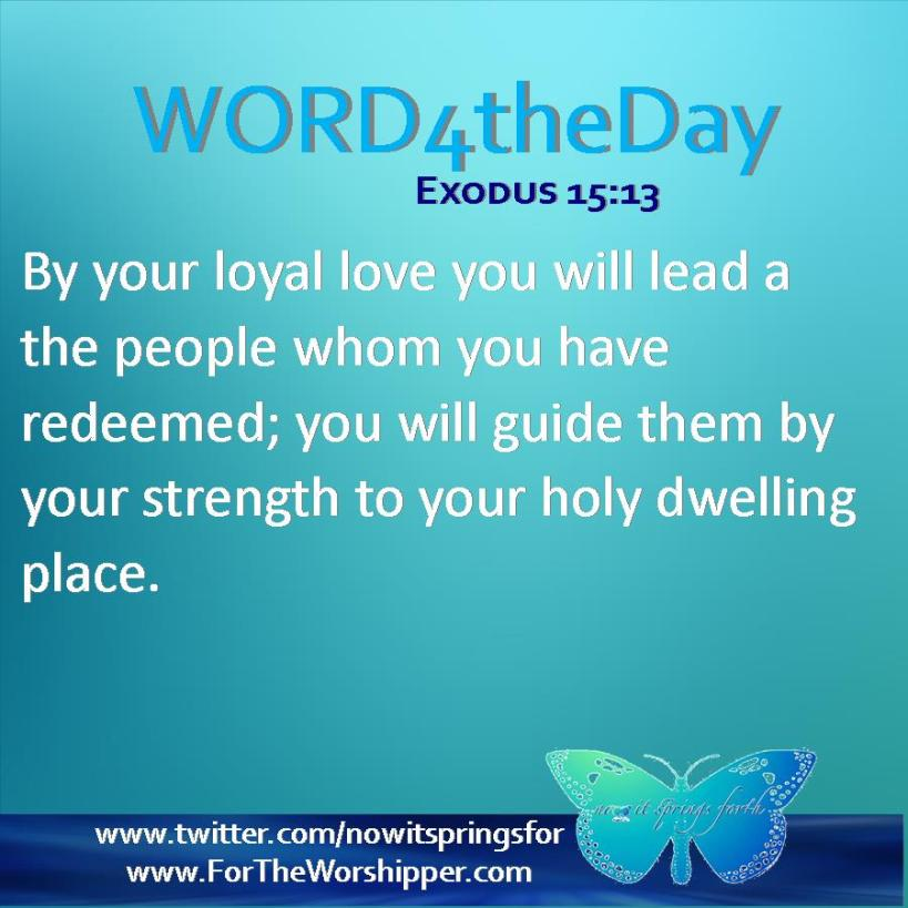 Exodus 15 13
