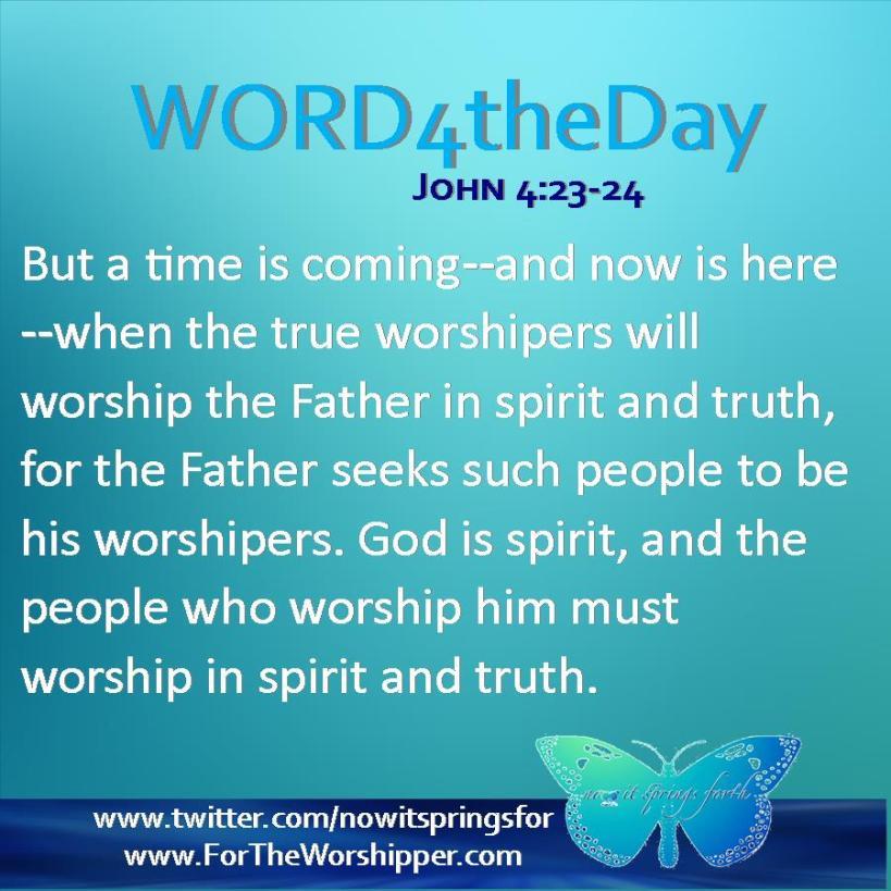 John 4 23-24