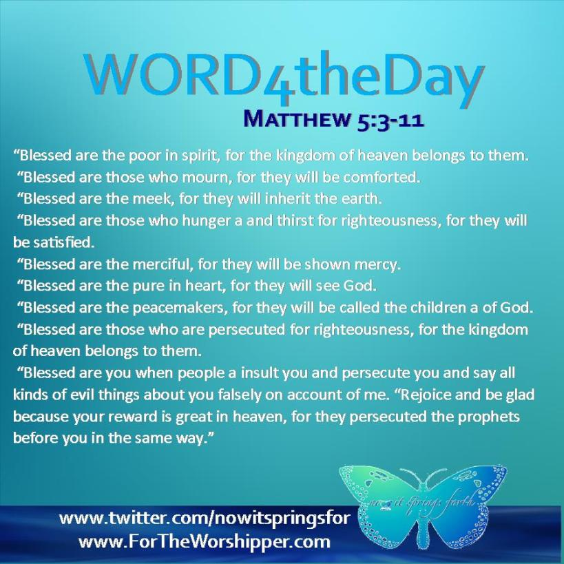 Matthew 5 3-11