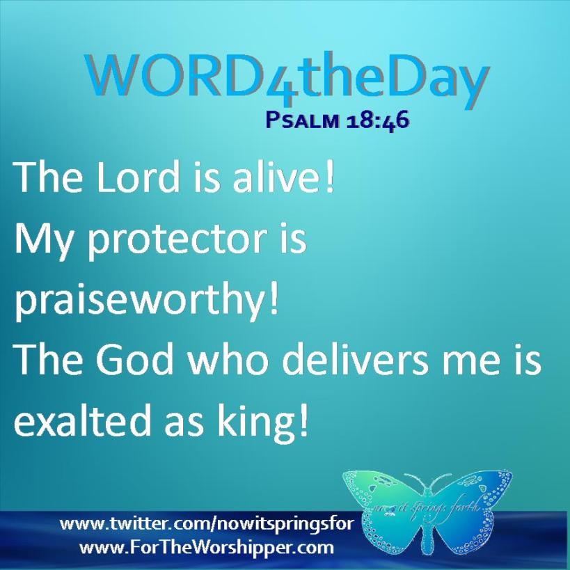 Psalm 18 46