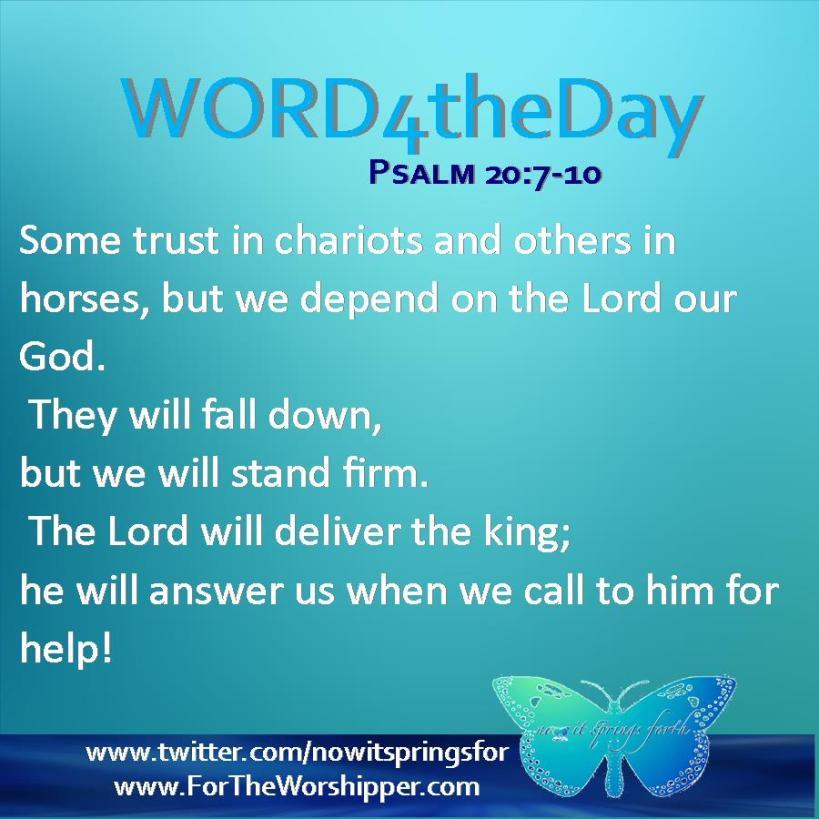 Psalm 20 7-10