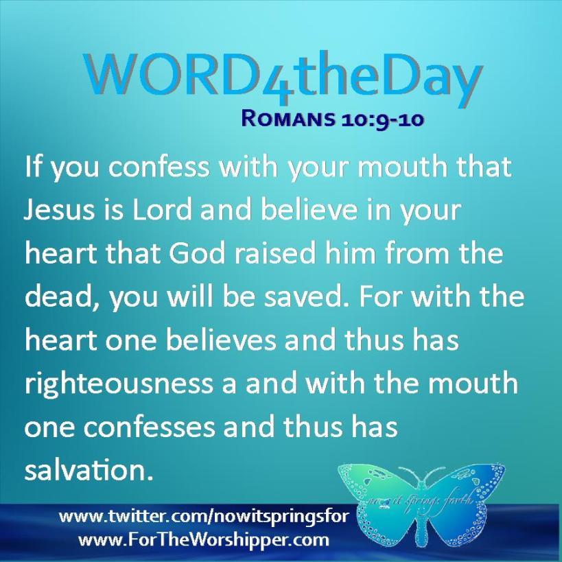 Romans 10 9-10