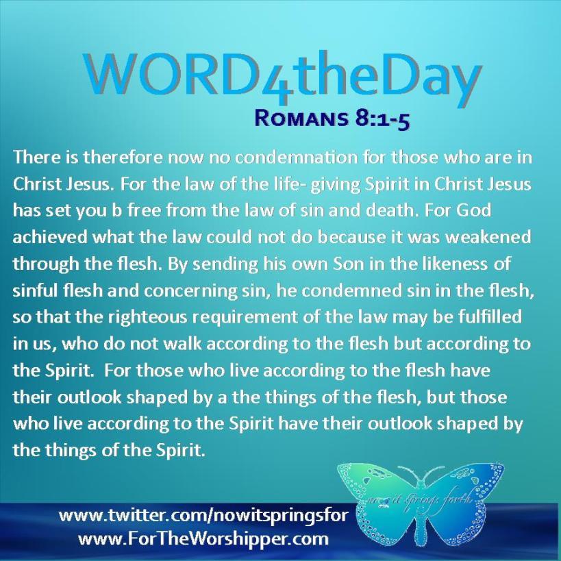 Romans 8 1-5