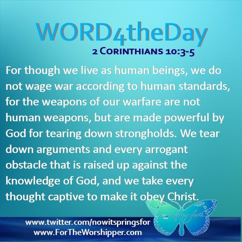 2 Corinthians 10 3-5