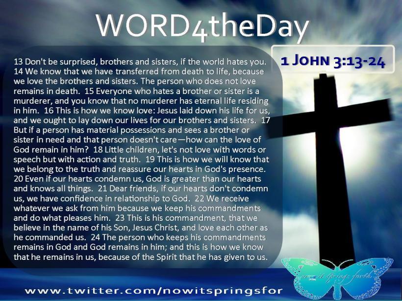 1 John 13-24