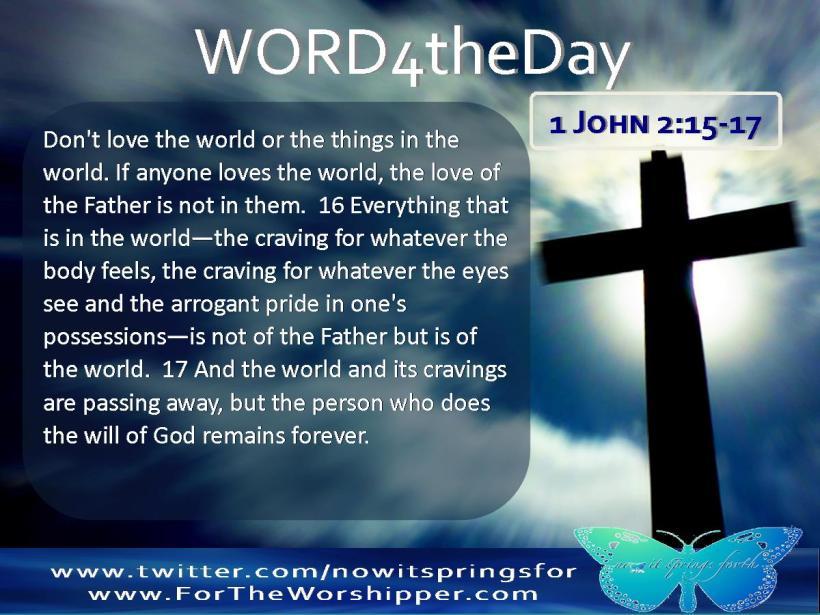 1 John 2 15-17