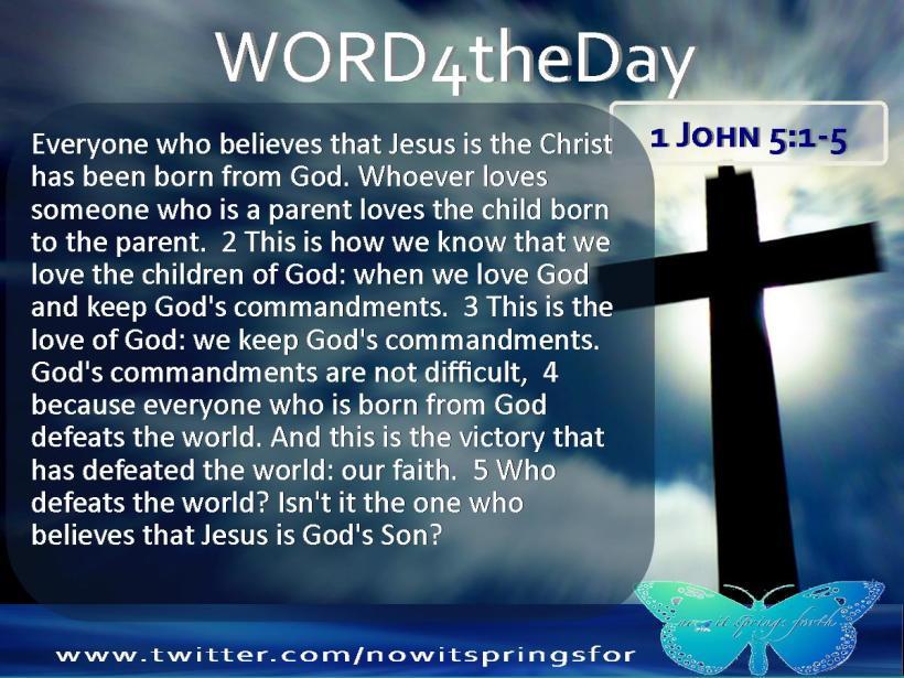 1 John 5 1-5
