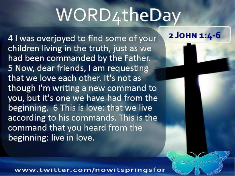 2 John 1 4-6