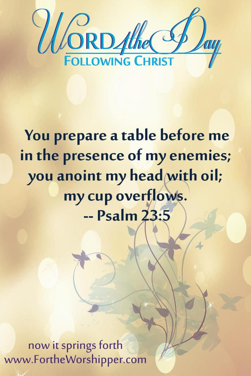 Psalm 23 5