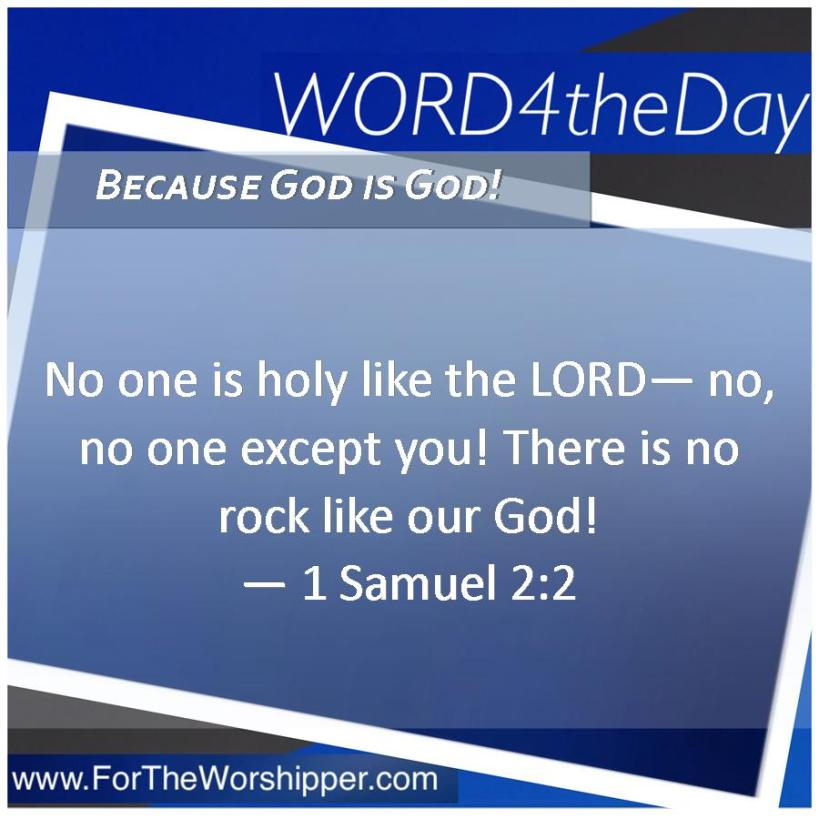 08 18 14 1 Samuel 2 2 There s no one like our God